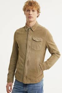 Goosecraft slim fit overhemd Sin City desert sand, Desert Sand