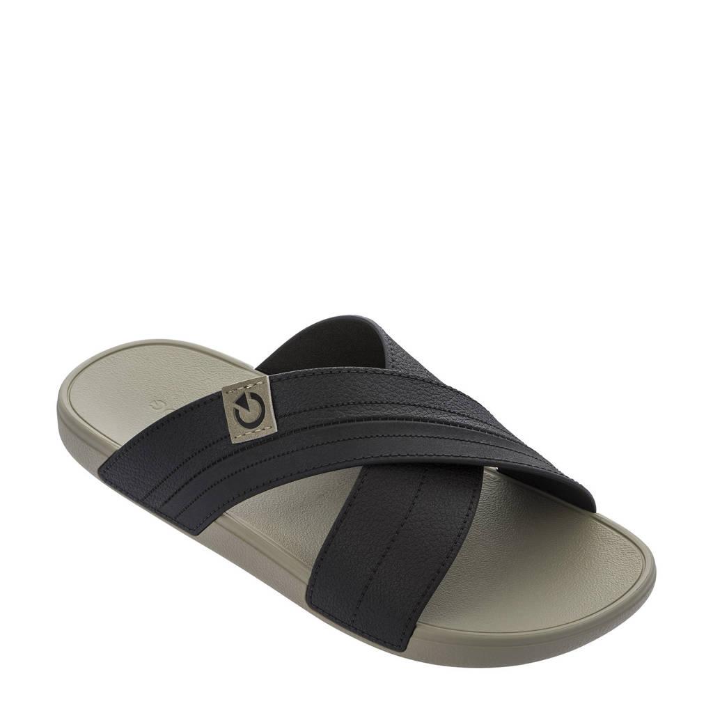 Cartago Dakar  slippers bruin/beige, Bruin/beige