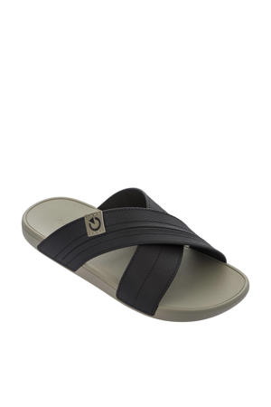 Dakar  slippers bruin/beige