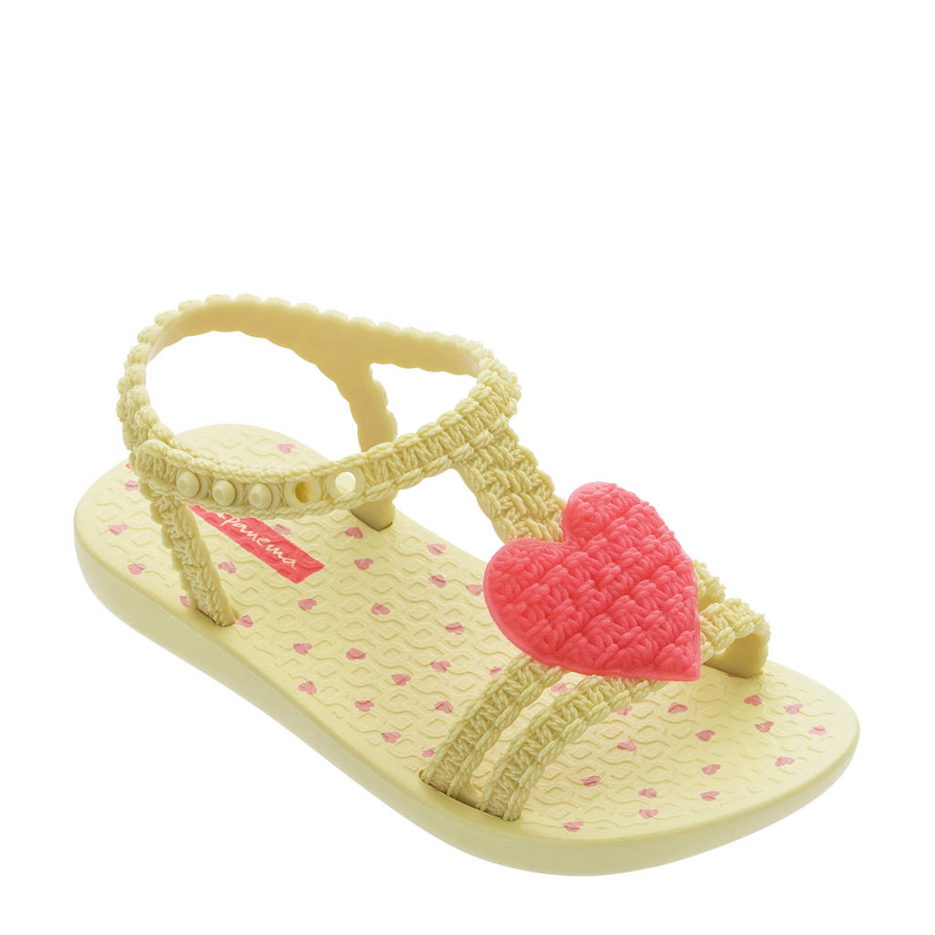 Ipanema My First Ipanema  teenslippers geel/roze, Geel/roze