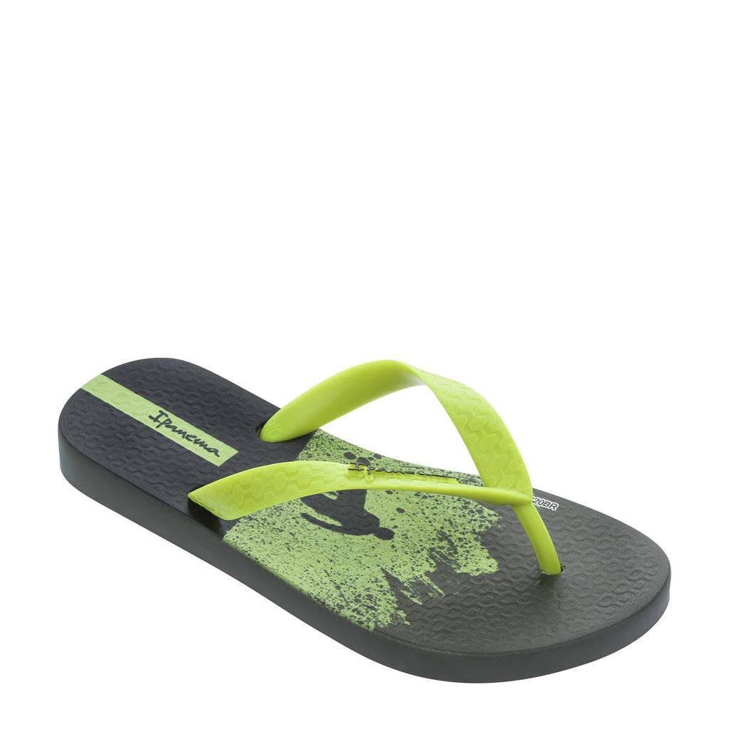 Ipanema Temas  teenslippers Temas groen/geel, Groen/geel