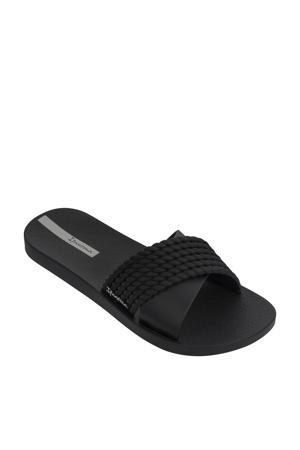 Street  slippers zwart