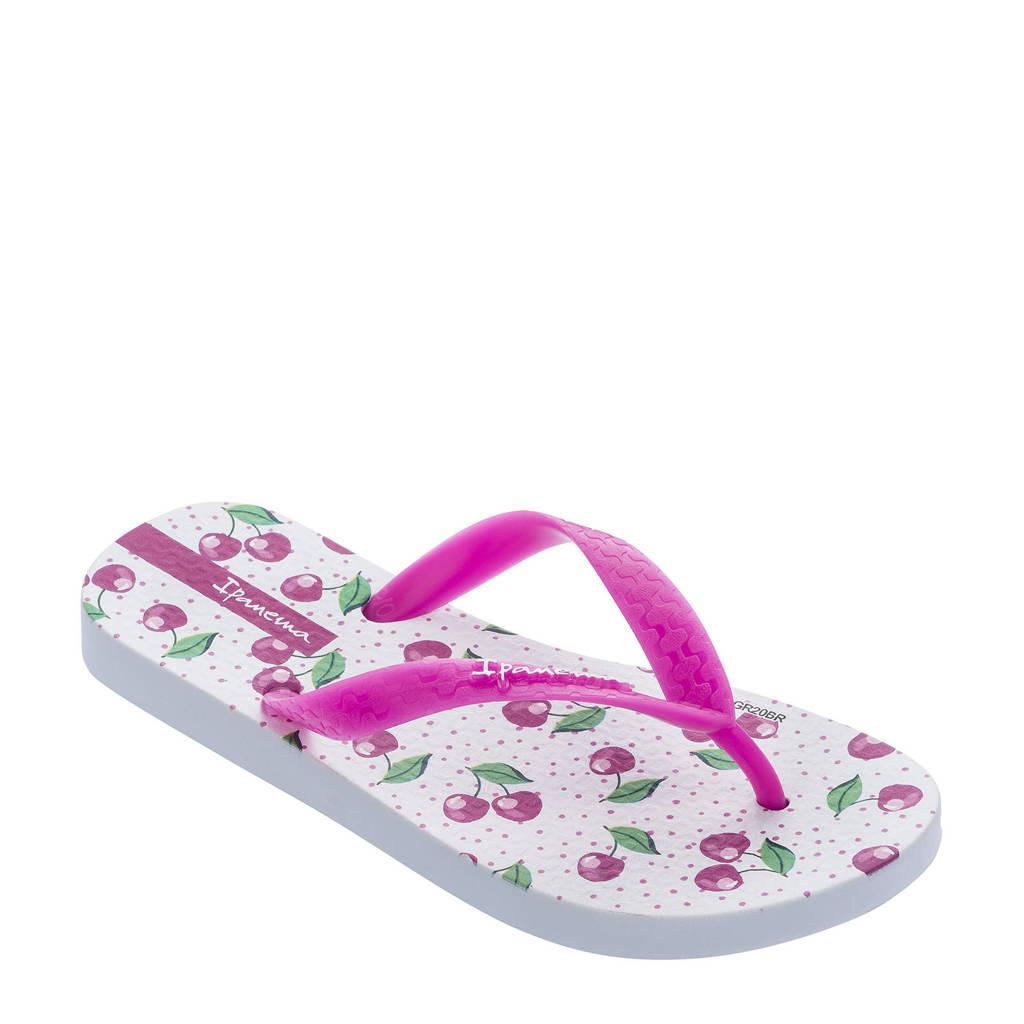 Ipanema Temas  teenslippers Temas roze/wit, Roze/wit