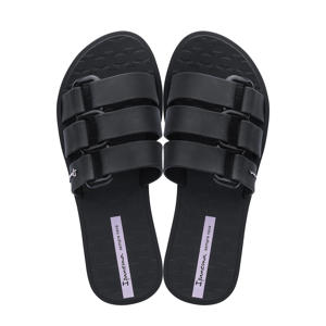 Bold  slippers zwart