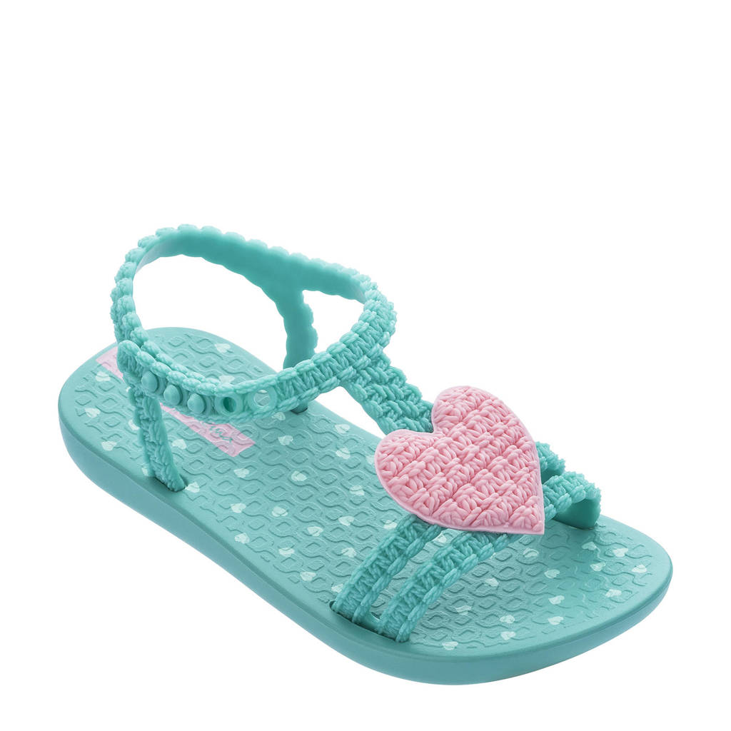 Ipanema My First Ipanema  teenslippers turquoise/roze, Turquoise/rozse