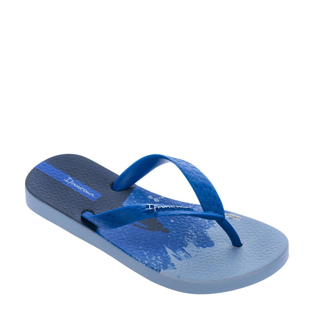 Ipanema Temas  teenslippers blauw/donkerbluaw, Blauw/donkerblauw