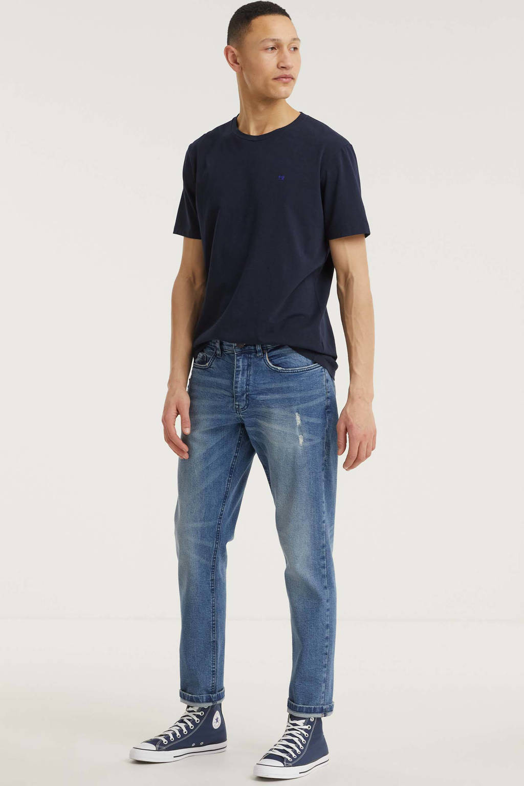 Redefined Rebel tapered fit jeans Chicago perfect indigo, Perfect indigo
