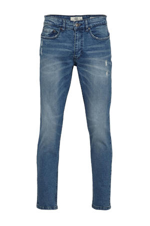 tapered fit jeans Chicago perfect indigo