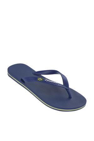 Classic Brasil  teenslippers blauw