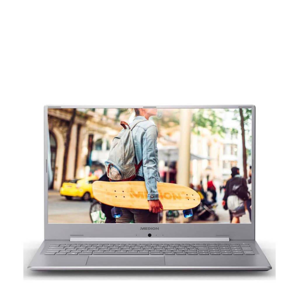 Medion E17201-N4000-8-256 17.3 inch Full HD laptop, Grijs