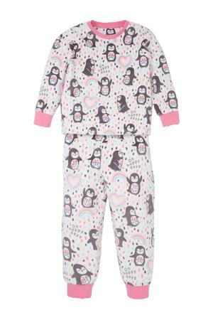 pyjama pinguïn roze