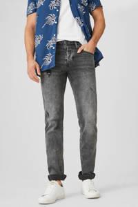 C&A The Denim slim fit jeans grijs, Grijs