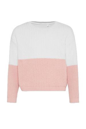 gebreide trui gebroken wit/rozr