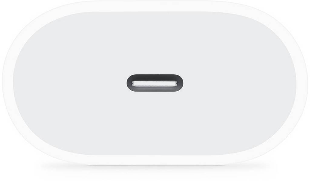 Apple MHJE3ZM/A USB-C lichtnetadapter 20 W MHJE3ZM/A, Wit