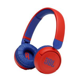 JR310BT draadloze on-ear hoofdtelefoon (blauw/rood)