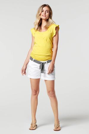 low waist regular fit short Edgewood wit
