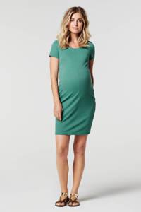 Noppies zwangerschapsjurk Zinnia groen, Groen