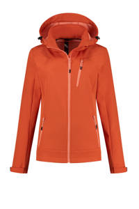Kjelvik outdoor softshell jas Abella oranje, Oranje