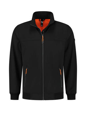 outdoor jas Marvig zwart