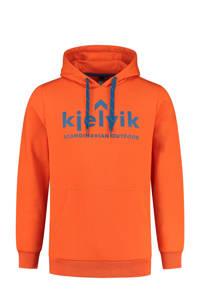 Kjelvik outdoor hoodie Freek oranje, Oranje