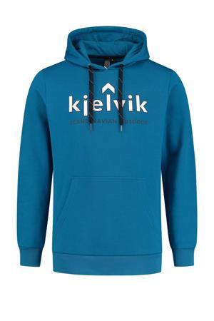 outdoor hoodie Freek blauw