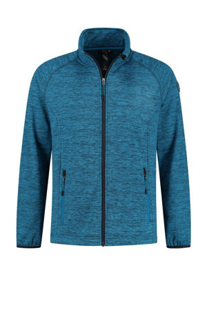 outdoor vest Mike blauw