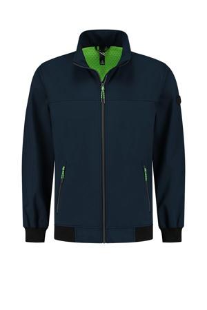 outdoor jas Marvig donkerblauw