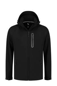 Kjelvik Plus Size outdoor jas Kevan zwart, Zwart