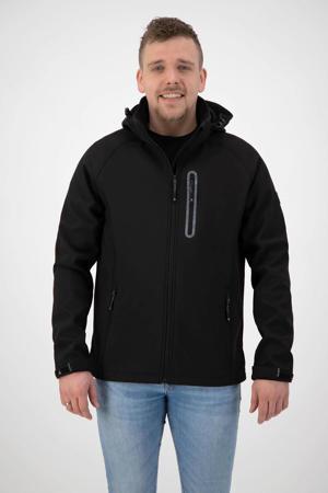 outdoor jas Kevan zwart