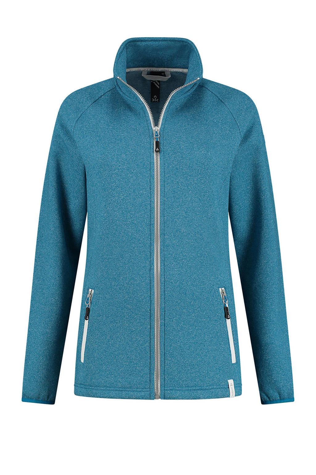 Kjelvik outdoor vest Milou blauw, Blauw