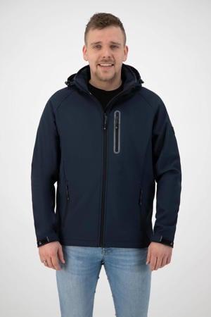 outdoor jas Kevan donkerblauw