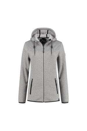 Plus Size outdoor vest Amber grijs