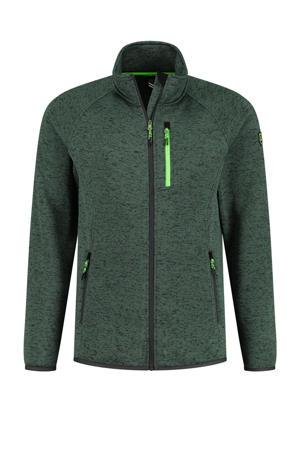 outdoor vest Aron groen