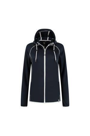 outdoor vest Roos donkerblauw