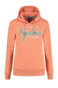 Kjelvik outdoor hoodie Babette oranje, Oranje