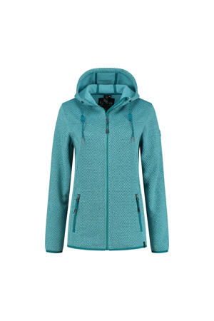 outdoor vest Amber aquablauw