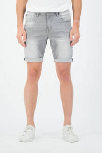 Garcia regular fit jeans short Russo 615 grijs, Grijs