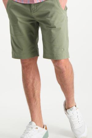 regular fit bermuda kaki