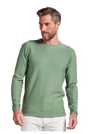 fijngebreide trui Cooper groen