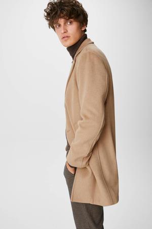 jas met wol camel