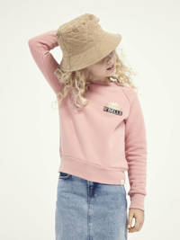 Scotch & Soda sweater met printopdruk roze, Roze