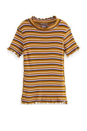 gestreept T-shirt multicolor