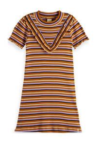 Scotch & Soda gestreepte T-shirtjurk multicolor, Multicolor