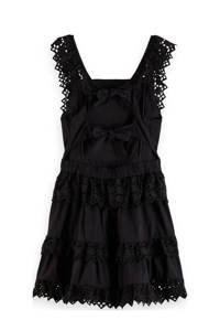 Scotch & Soda jurk van biologisch katoen zwart, Zwart