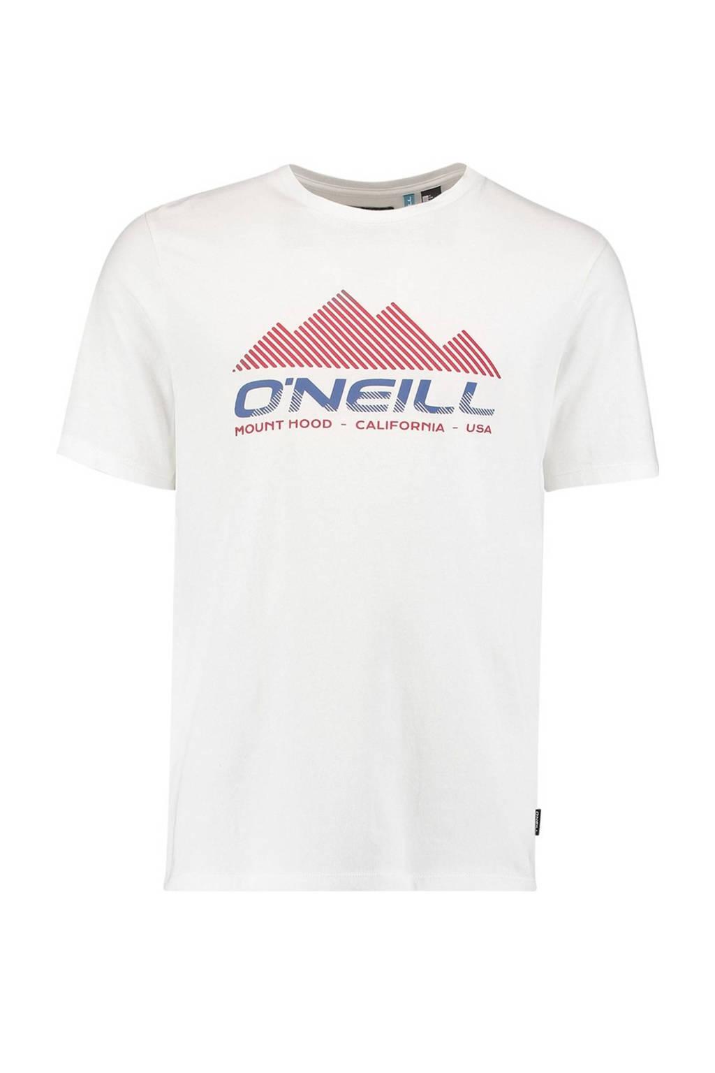 O'Neill T-shirt Dan wit, powder white