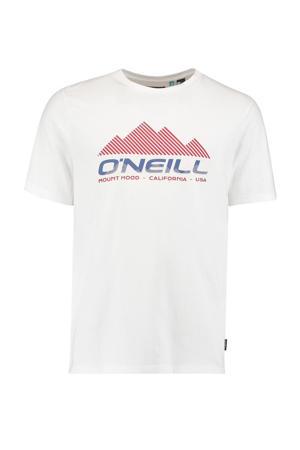 T-shirt Dan wit