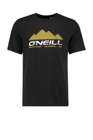 T-shirt Dan zwart
