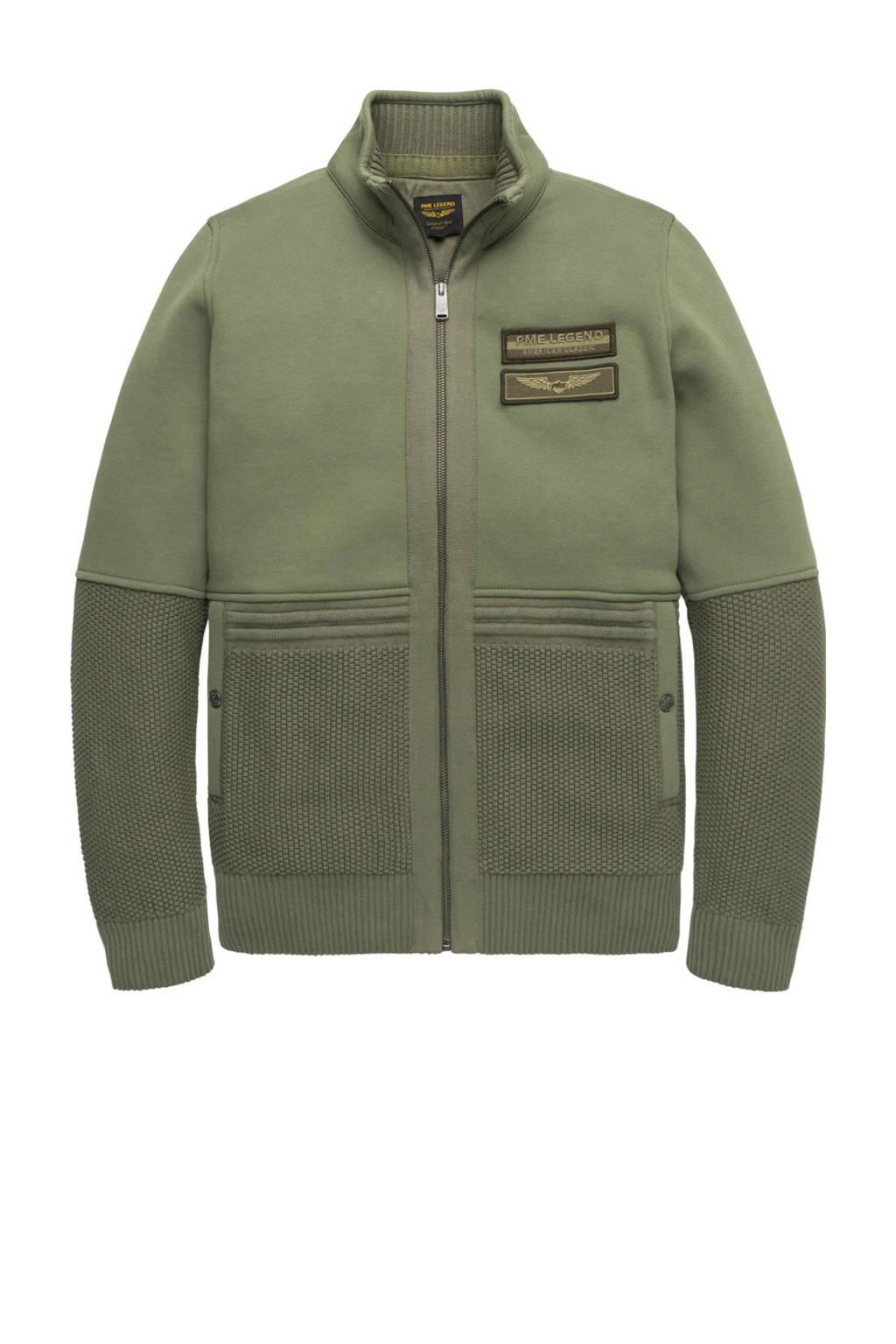 PME Legend vest groen, Groen