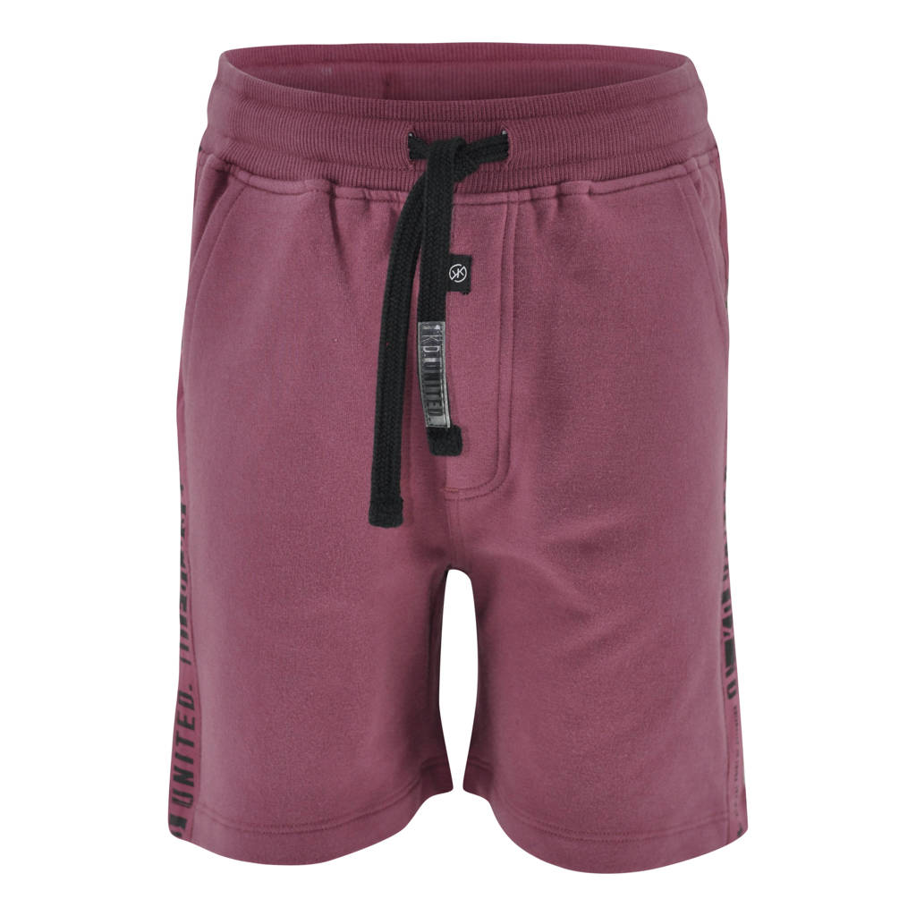 KIDDO regular fit sweatshort Yermo aubergine, Aubergine
