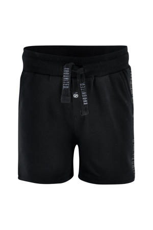 regular fit sweatshort Xam zwart